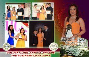Golden Globe Annual Awards For Business Excellence 2015