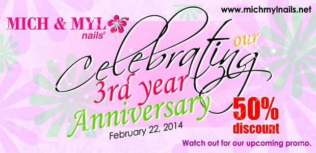 Celebrating 3rd Year Anniversary