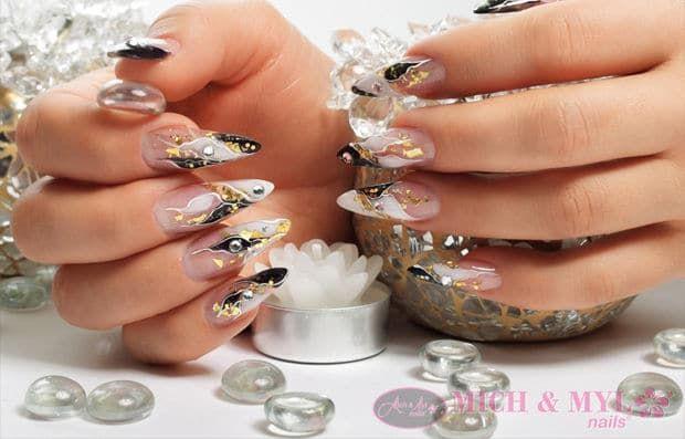 sculptured-gel-nails
