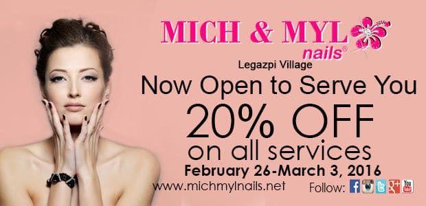Legazpi Village Opening Promotion