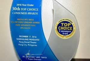 Top Choice Consumers Awards 2016