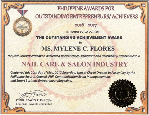 Philippine Awards For Outstanding Entrepreneurs Achievers 2017