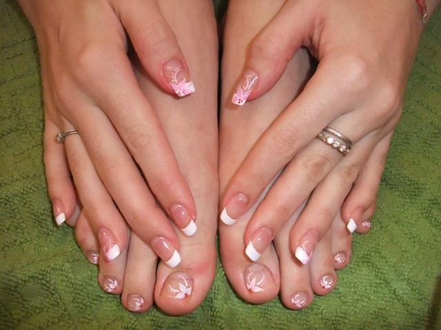 French Tip and Nail Art